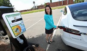 Bessemer City installs electric vehicle charging stations