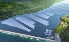 DBS Finances Floating Solar Farm
