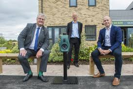 Electric vehicle charging points installed in Wichelstowe parking spaces