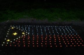 Light It Forward Liter of Light to unveil its first milestone, a Philippine flag made from 1,000 solar lights