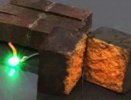 Powerhouses nanotechnology turns bricks into batteries