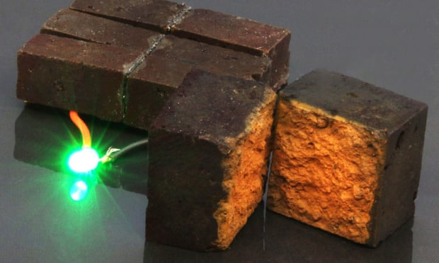Powerhouses: nanotechnology turns bricks into batteries