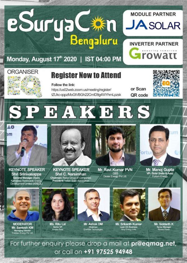 EQ Webinar on eSuryaCon Karnataka