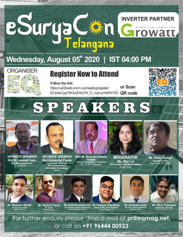 EQ Webinar - eSuryaCon Telangana