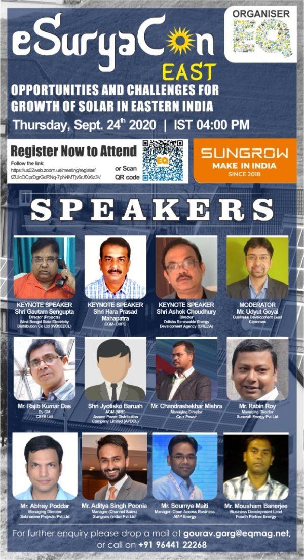 EQ Webinar on eSuryaCon East India