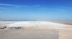 Abengoa advances in the construction of the world's largest concentrated solar power complex in Dubai
