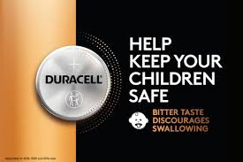 Duracell's new coin batteries have a bitter coating that makes them taste terrible