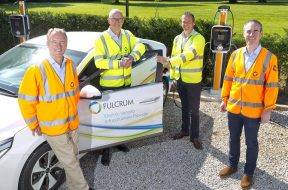 FIRMS COLLABORATE TO PROVIDE NEW ELECTRIC VEHICLE CHARGING SERVICE