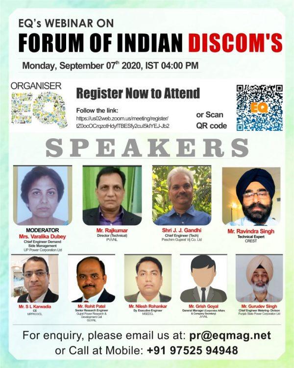 EQ Webinar on Forum of Indian DISCOMS