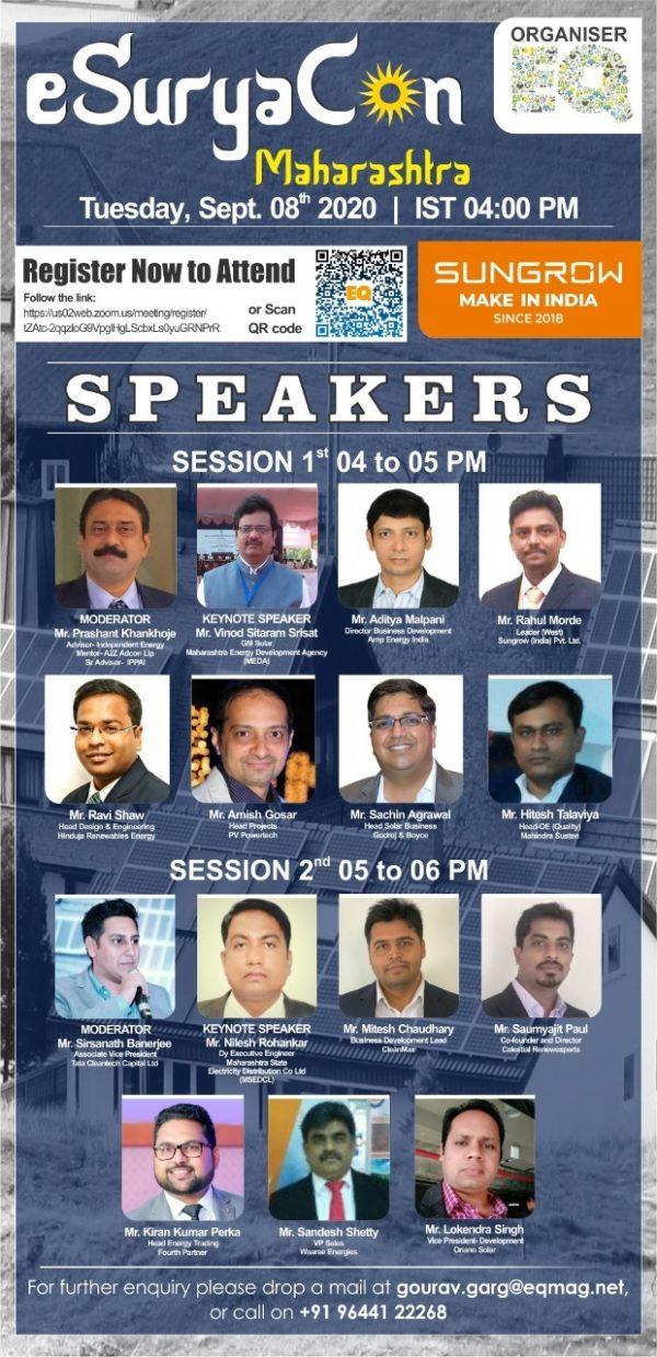 EQ Webinar on eSuryaCon Maharashtra