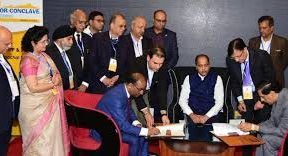 SJVN signed a MoU with Govt. of India for the year 2020-21