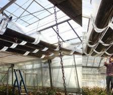 Thin-film agrivoltaic solar tubes
