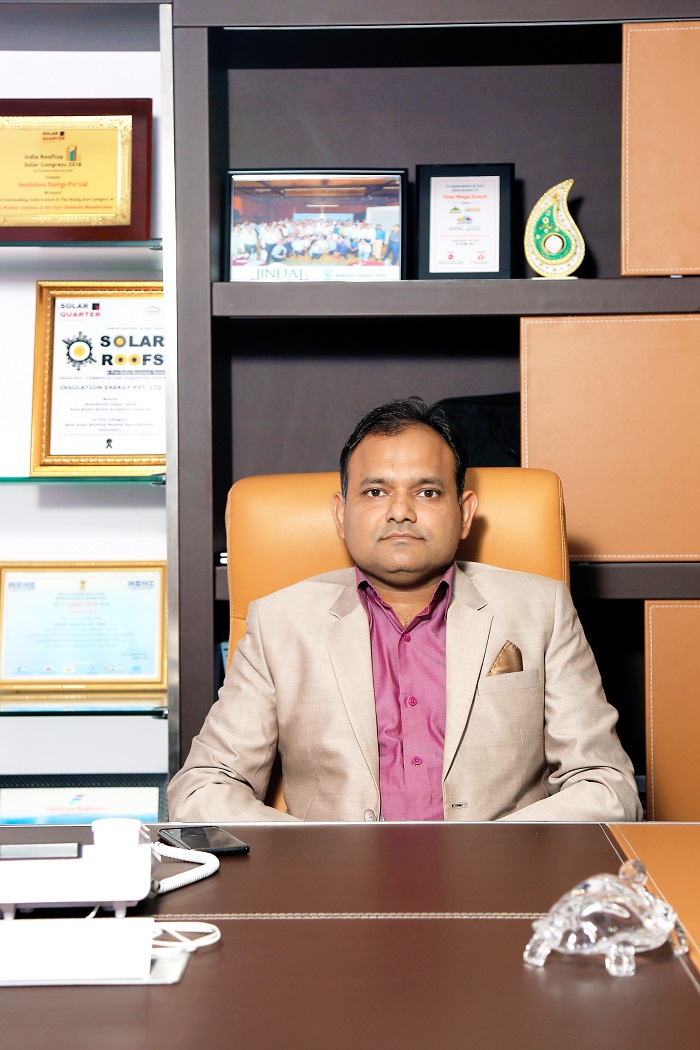 EQ In Exclusive Conversation With Mr. Vikas Jain , Managing Director – Insolation Energy Pvt. Ltd.