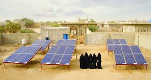 'The community respects us': how solar projects are empowering women in Yemen