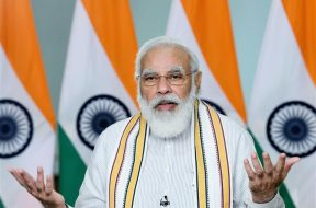 "New Delhi: Prime Minister Narendra Modi addresses a Conclave on ""School Education in 21st Century"" under the National Education Policy (NEP) 2020, through video conferencing, in New Delhi on Sep 11, 2020. (Photo: IANS/PIB)"