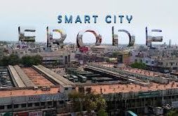 Installation of Solar roof top panels in Erode bus terminal in Erode Smart city