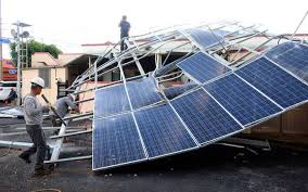 Scrapped Solar Panels Pose Serious Environmental Risk
