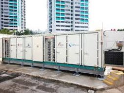 Utility Scale Energy Storage System Online In Singapore