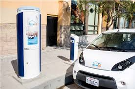 VEHICLE CHARGING STATION SET FOR DOWNTOWN AMSTERDAM