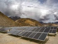 Ladakh gets largest solar project at Leh IAF station