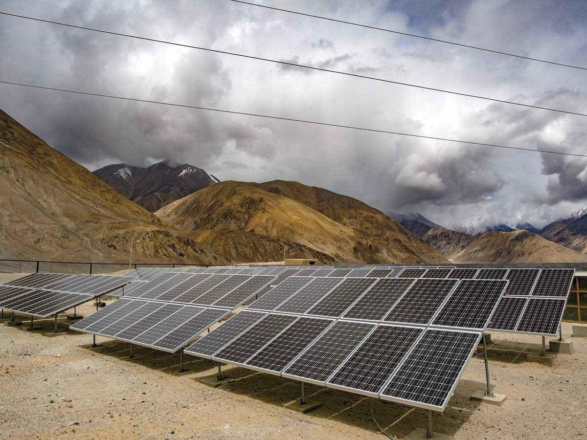 Ladakh gets largest solar project at Leh IAF station