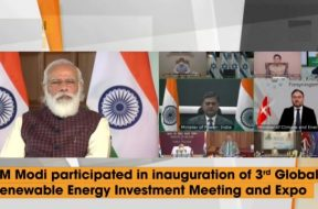 PM Inaugurates RE-Invest 2020