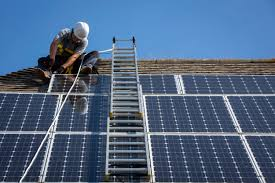 Solar panel installations by homeowners and power companies plummet after subsidy cuts