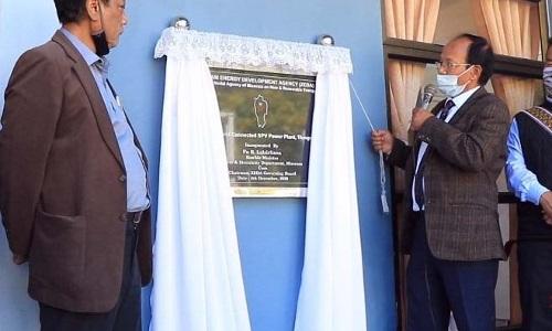 Mizoram enters country's solar power map with 2 MW plant