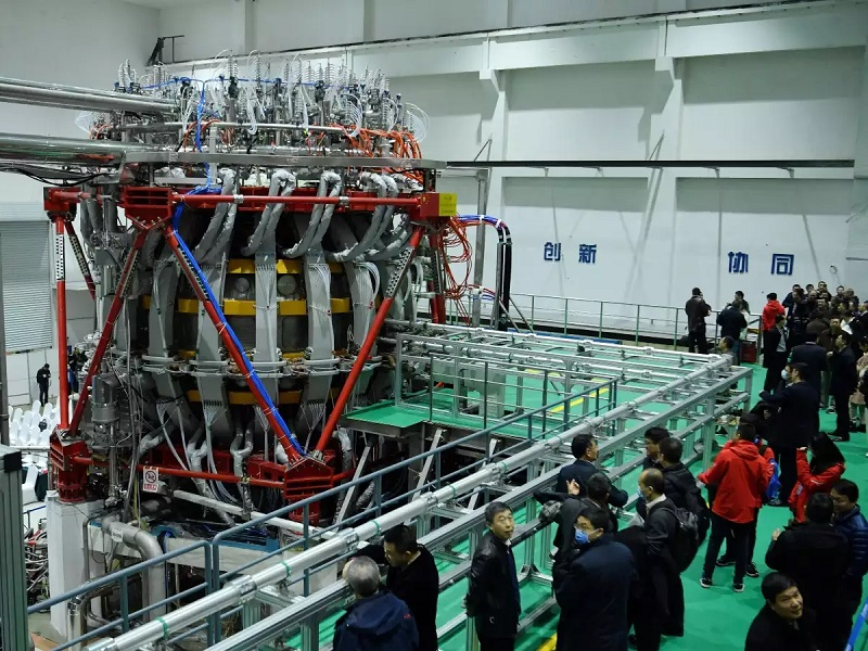 China turns on nuclear-powered 'artificial sun'