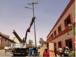 UNDP promoting clean energy through solar streetlights in Libya