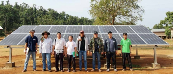 Laos villages transformed by solar power