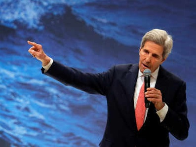 John Kerry aims to talk US back into a lead role in climate fight