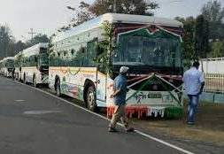 Andaman Lt Governor flags off electric buses; will curb pollution on island