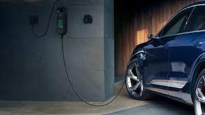 Audi prepares e-tron electric vehicle for grid-optimized charging