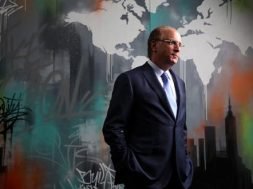 Larry Fink, founder and chief executive of the investment firm Blackrock, at his offices in New York on Aug. 10, 2016.  (Damon Winter/The New York Times)