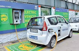 Electric vehicle recharging station inaugurated
