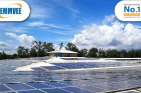 Emmvee has commissioned a rooftop solar PV project for Balaji Technologies.