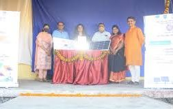 HSNC University's K.C. College initiated Solar Urja Project in Maharashtra