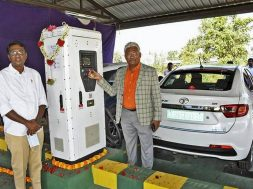 Mysuru's first e-charging station now a reality