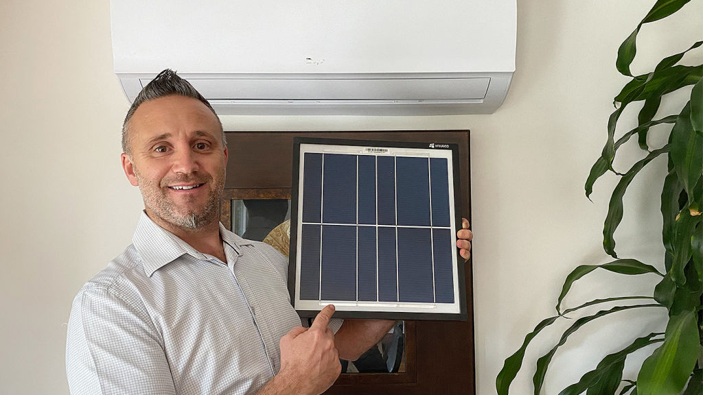 Solar-powered airconditioning arrives in Australia