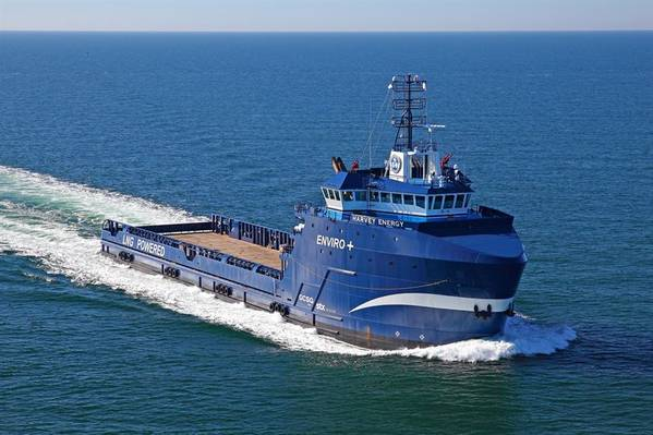 Corvus' Energy Storage Systems for Harvey Gulf's Offshore Vessels