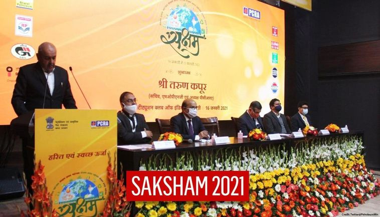 Petroleum Ministry Launches 'SAKSHAM' Campaign To Create Awareness On Green & Clean Energy