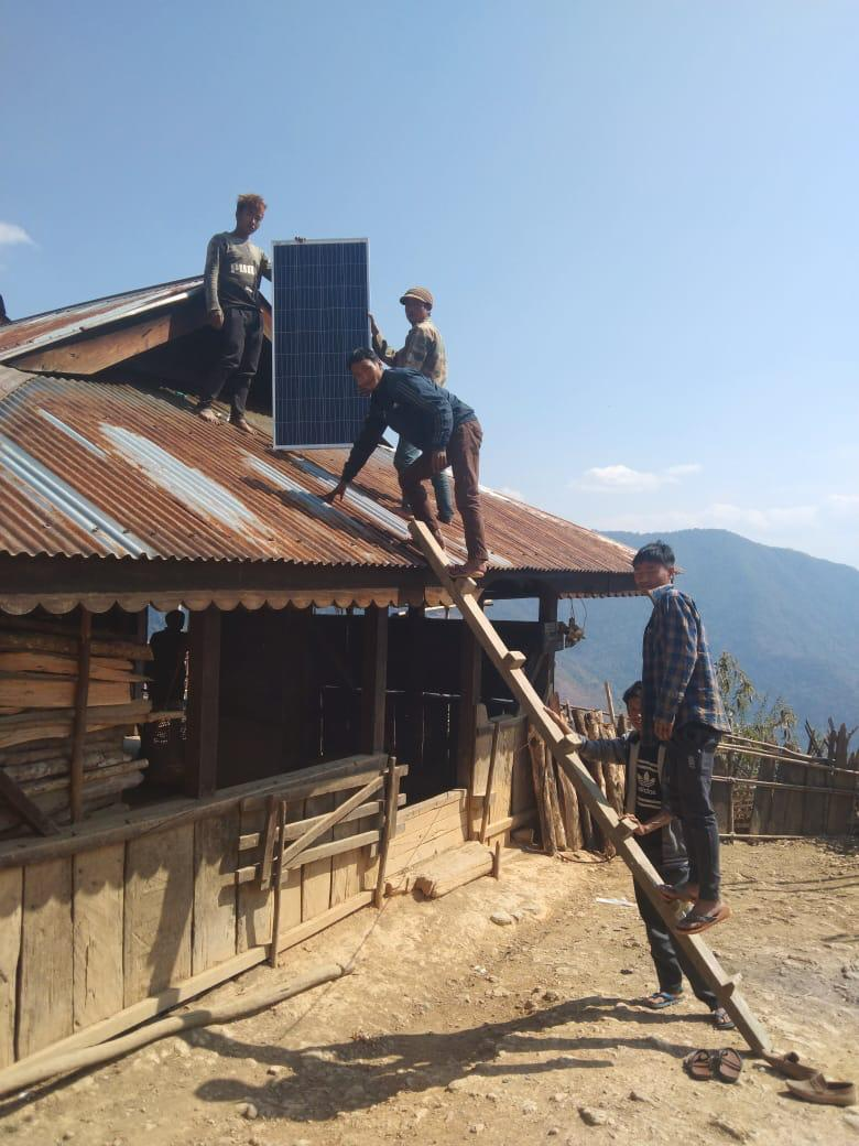 Shinnyu village receives electricity for first time in 24 years