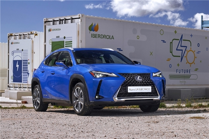 Iberdrola and Lexus join forces to offer the most comprehensive network of electric charging points to their customers