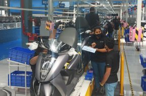 A look inside Ather Energy's all-new electric vehicle manufacturing facility at Hosur