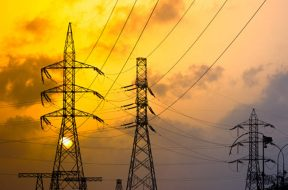Average spot power price up