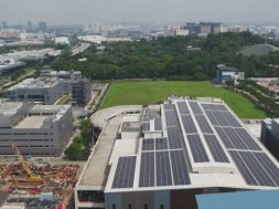 Pocharam campus already has a functional 6.56-MW solar plant and a 1,165- KWP rooftop solar power project