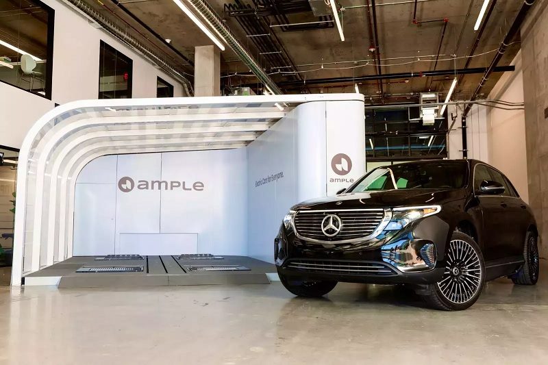 California startup touts battery-swapping to juice demand for electric vehicles