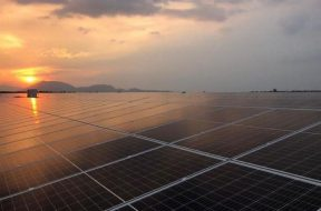 A 60 mW solar power project in Kampong Chhnang province. Facebook