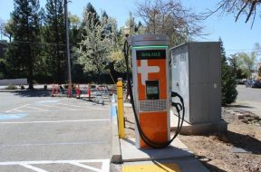 Auburn adds first high-speed EV charging station